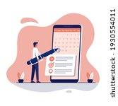 businessman booking an...   Shutterstock .eps vector #1930554011