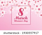 march 8 women's day poster with ...   Shutterstock .eps vector #1930557917