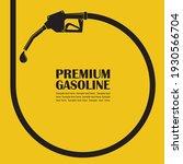 gasoline fuel pump nozzle... | Shutterstock .eps vector #1930566704