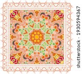 decorative colorful ornament on ...   Shutterstock .eps vector #1930594367