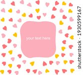 ready background for text with... | Shutterstock .eps vector #1930599167