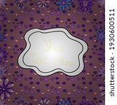 doodles cute pattern. beautiful ... | Shutterstock .eps vector #1930600511