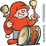 vector cartoon illustration of... | Shutterstock .eps vector #1930604381