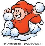 vector cartoon illustration of... | Shutterstock .eps vector #1930604384