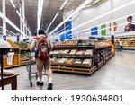 Man Shopping Inside A Store ...