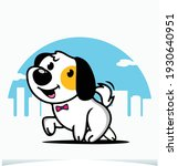 dog in the city  dog t shirt... | Shutterstock .eps vector #1930640951