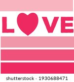 designer of the name love with... | Shutterstock .eps vector #1930688471