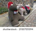 Cute Bears' Gang On The Street...