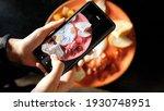 women's hands take photos of... | Shutterstock . vector #1930748951