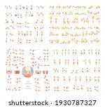 fitness exercises total body.... | Shutterstock .eps vector #1930787327