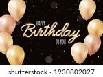 happy birthday background with...   Shutterstock .eps vector #1930802027