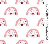 seamless pattern valentine's... | Shutterstock .eps vector #1930869191