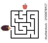 help the hedgehog on his way....   Shutterstock .eps vector #1930878917