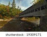 Albany Bridge In New Hampshire. ...
