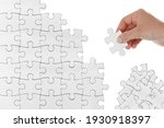 human female hand trying to... | Shutterstock . vector #1930918397