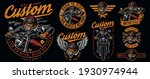 vintage motorcycle designs... | Shutterstock .eps vector #1930974944