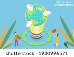 3d isometric flat vector... | Shutterstock .eps vector #1930996571