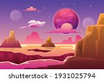 space illustration with science ... | Shutterstock .eps vector #1931025794