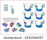 logic puzzle game for children... | Shutterstock .eps vector #1931046557
