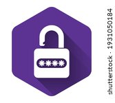 white password protection and... | Shutterstock .eps vector #1931050184