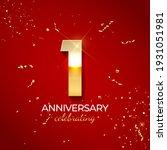 anniversary celebration... | Shutterstock .eps vector #1931051981