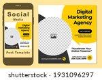 creative social media square... | Shutterstock .eps vector #1931096297