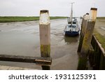 Small Tidal Harbor With Low...