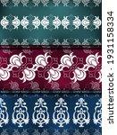 set graphic ornament seamless... | Shutterstock .eps vector #1931158334