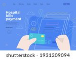 medical insurance web page...   Shutterstock .eps vector #1931209094