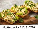 Egg Salad Sandwiches  On Light...