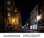 A Night View Of Cambridge  A...
