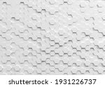 white hexagon background with...   Shutterstock . vector #1931226737