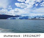 Huge And Wide Glacier In The...