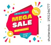 super sale big finale special... | Shutterstock .eps vector #1931246777