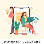 business idea development...   Shutterstock .eps vector #1931264351
