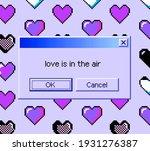 8 bit art message with pixel...   Shutterstock .eps vector #1931276387