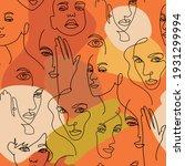 contemporary hand drawn design... | Shutterstock .eps vector #1931299994