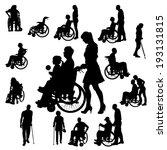 asistencia,silla,muletas,hija,discapacidad,desactivado,ancianos,padre,abuelo,abuela,handicap,minusválidos,medicina,movilidad,senior