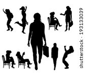 vector silhouette of...   Shutterstock .eps vector #193133039