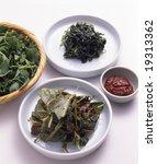 korean food side dish   Shutterstock . vector #19313362
