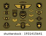 special force army insignia... | Shutterstock .eps vector #1931415641