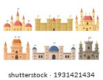 fairy medieval castles and... | Shutterstock .eps vector #1931421434