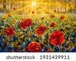 Artwork Sun Rays Sunny Flower...