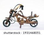 Wooden Miniature Motorcycle ...