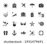 vector set of vacation flat...   Shutterstock .eps vector #1931479691