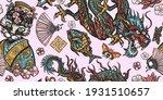 japanese seamless pattern.... | Shutterstock .eps vector #1931510657