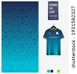 soccer jersey pattern design.... | Shutterstock .eps vector #1931582327