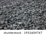 Lots Of Small Medium Grey Rocks