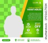 vegetable and fruit grocery... | Shutterstock .eps vector #1931617034