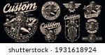 angry bear bikers vintage... | Shutterstock .eps vector #1931618924